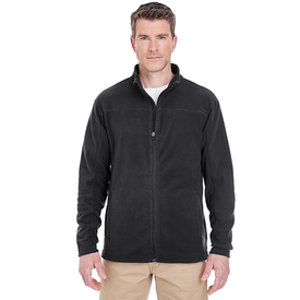 8185 UltraClub Men's Cool & Dry Full-Zip Microfleece (1772513689642)