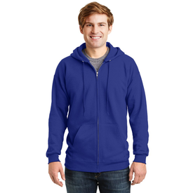 F283 Hanes® Ultimate Cotton® - Full-Zip Hooded Sweatshirt (1399906009130)