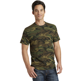 PC54C Port & Company® Core Cotton Camo Tee (1871111815210)