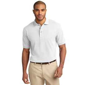 TLK420 Port Authority® Tall Heavyweight Cotton Pique Polo (1344428376106)