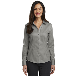 RH250 Red House® Ladies Pinpoint Oxford Non-Iron Shirt (1555805175850)