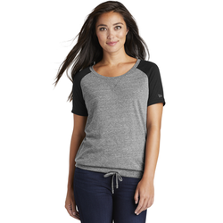 LNEA133 New Era ® Ladies Tri-Blend Performance Cinch Tee