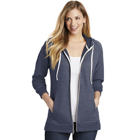DT456 District ® Women's Perfect Tri ® French Terry Full-Zip Hoodie (1865334882346)