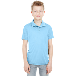 8210Y UltraClub Youth Cool & Dry Mesh Piqué Polo (1772081709098)