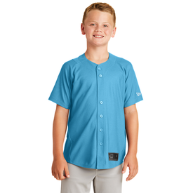 YNEA220 New Era® Youth Diamond Era Full-Button Jersey (1617326243882)