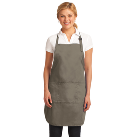 A703 Port Authority® Easy Care Full-Length Apron with Stain Release (1593306316842)