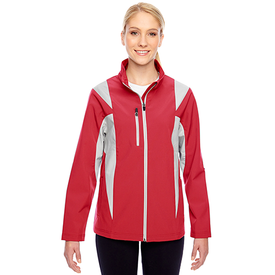 TT82W Team 365 Ladies' Icon Colorblock Soft Shell Jacket (1749241823274)