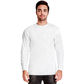 7451S Next Level Adult Power Pocket T-Shirt (1885333389354)