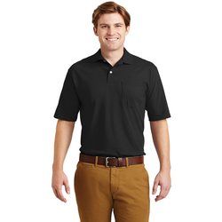 436MP JERZEES® -SpotShield™ 5.6-Ounce Jersey Knit Sport Shirt with Pocket