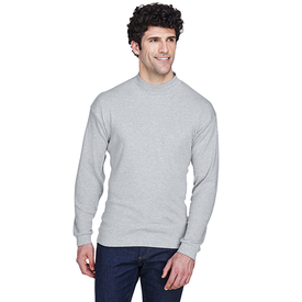 8510 UltraClub Adult Egyptian Interlock Long-Sleeve Mock Turtleneck (1770582573098)