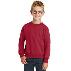 PC90Y Port & Company® - Youth Core Fleece Crewneck Sweatshirt