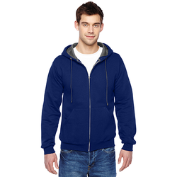 SF73R Fruit of the Loom Adult 7.2 oz. SofSpun® Full-Zip Hooded Sweatshirt