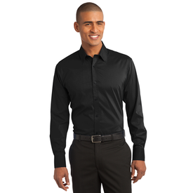 S646 Port Authority® Stretch Poplin Shirt (1570221850666)