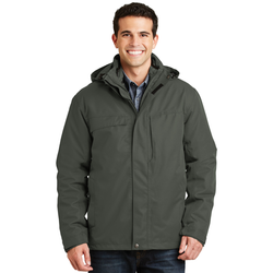 J302 Port Authority® Herringbone 3-in-1 Parka (1552298246186)