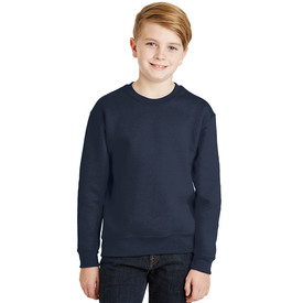 562B JERZEES® - Youth NuBlend® Crewneck Sweatshirt (1376760004650)