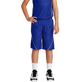 YT565 Sport-Tek® Youth PosiCharge® Mesh Reversible Spliced Short (1612655198250)