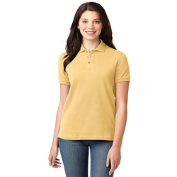 L420 Port Authority® Ladies Heavyweight Cotton Pique Polo