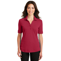 L5200 Port Authority® Ladies Silk Touch™ Interlock Performance Polo