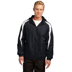 JST81 Sport-Tek® Fleece-Lined Colorblock Jacket
