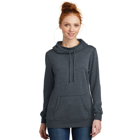 DM493 District ® Women's Lightweight Fleece Hoodie (1378924363818)