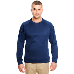 8443 UltraClub Adult Cool & Dry Sport Crew Neck Fleece (1782735208490)
