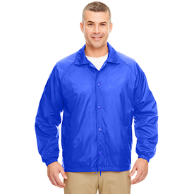 8944 UltraClub Adult Nylon Coaches' Jacket (1772245450794)