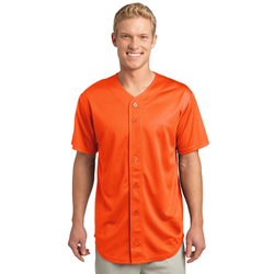 ST220 Sport-Tek® PosiCharge® Tough Mesh Full-Button Jersey