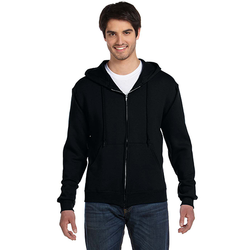 82230 Fruit of the Loom Adult 12 oz. Supercotton™ Full-Zip Hood