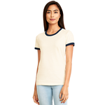 3904 Next Level Ladies' Ringer T-Shirt