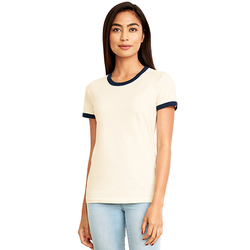 3904 Next Level Ladies' Ringer T-Shirt (1884155969578)