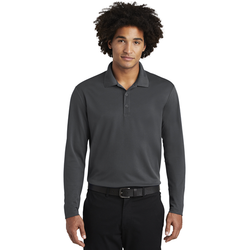 ST640LS Sport-Tek ® PosiCharge ® RacerMesh ® Long Sleeve Polo