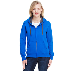 LSF73R Fruit of the Loom Ladies' 7.2 oz. Sofspun® Full-Zip Hooded Sweatshirt