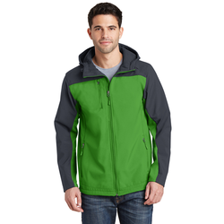 J335 Port Authority® Hooded Core Soft Shell Jacket (1544463220778)