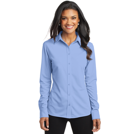 L570 Port Authority® Ladies Dimension Knit Dress Shirt (1877762146346)