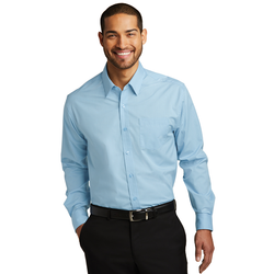 W643 Port Authority® Micro Tattersall Easy Care Shirt
