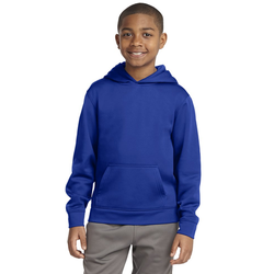 YST244 Sport-Tek® Youth Sport-Wick® Fleece Hooded Pullover