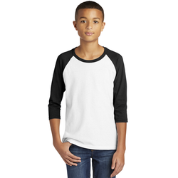 5700B Gildan ® Heavy Cotton ™ Youth 3/4-Sleeve Raglan T-Shirt