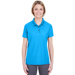 8250L UltraClub Ladies' Cool & Dry Box Jacquard Performance Polo (1782534799402)