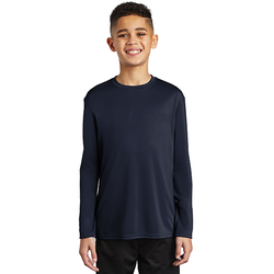 PC380YLS Port & Company ® Youth Long Sleeve Performance Tee