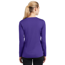 LST353LS Sport-Tek® Ladies Long Sleeve PosiCharge® Competitor™ V-Neck Tee (1417792323626)