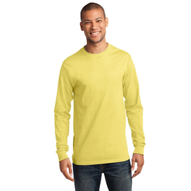 PC61LS Port & Company® - Long Sleeve Essential Tee (1360763256874)