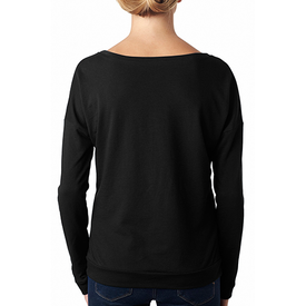 6931 Next Level Ladies' French Terry Long-Sleeve Scoop (1796616847402)