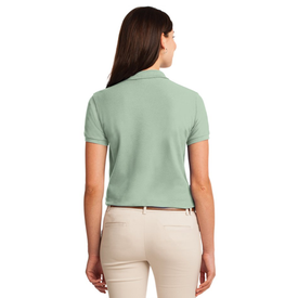 L500 Port Authority® Ladies Silk Touch™ Polo (1369902546986)