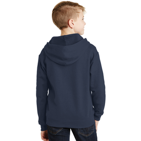993B JERZEES® - Youth NuBlend® Full-Zip Hooded Sweatshirt (1401811501098)