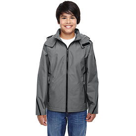 TT72Y Team 365 Youth Conquest Jacket with Fleece Lining (1761210892330)