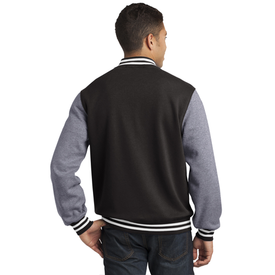 ST270 Sport-Tek® Fleece Letterman Jacket (1594193838122)
