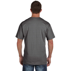 3931P Fruit of the Loom Adult 5 oz. HD Cotton™ Pocket T-Shirt