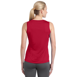 LST352 Sport-Tek® Ladies Sleeveless PosiCharge® Competitor™ V-Neck Tee
