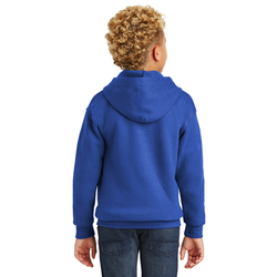 18600B Gildan® Youth Heavy Blend™ Full-Zip Hooded Sweatshirt