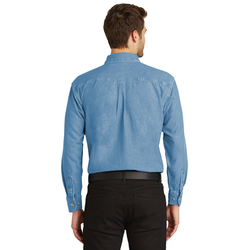 S600 Port Authority® Long Sleeve Denim Shirt